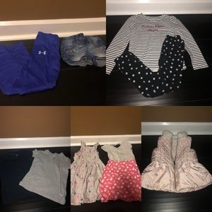 Girls sizes 6, 6X, and 6-7